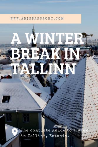 A Winter Break in Tallinn