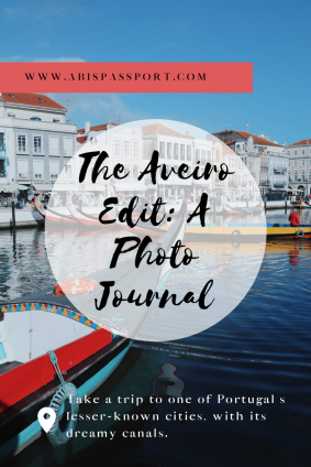 The Aveiro Edit: A Photo Journal